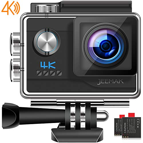 JEEMAK Action Cam 4K UHD 20MP Sport Kamera