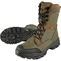 TF Gear Extreme Green 100% Waterproof Thermal Lined Carp Fishing Boots - Ex Demo