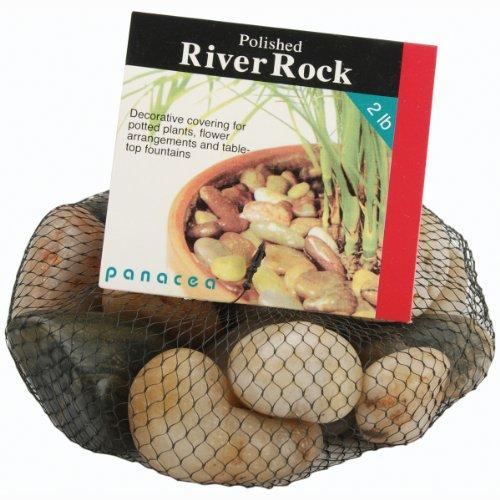Panacea 70005 River Rock, Mélange de Couleur, 2 kg