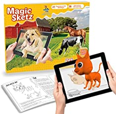 Augmented Reality - 3D Coloring Book - Magic Joey - Pet Animals [Paperback] [Jan 01, 2016] AugmentWorks
