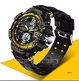 Orologio sportivo da uomo 2016orologio a LED digitale al quarzo orologi da polso uomo top brand di lusso digital-watch Relogio Masculino, Gold