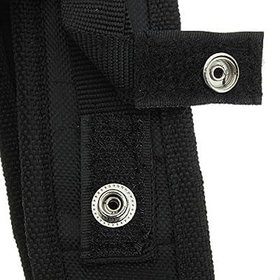 GOZAR Black Holster Cover Tasche Für LED Taschenlampe 150mm X 30mm von GOZAR bei Outdoor Shop