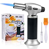 Culinary Blow Torch Tintec Chef Cooking Torch Lighter Butane Refillable Flame Adjustable