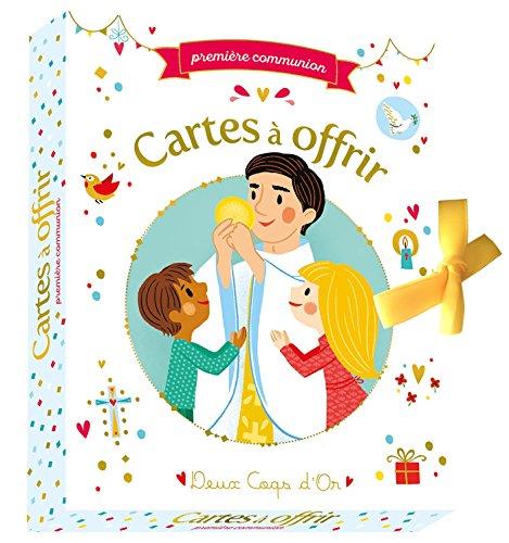 Première communion - cartes à offrir