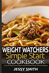 Weight Watchers Simple Start Cookbook: A 7-Day-7lbs weight watchers Beginners Guide, Plus Mouthwatering Recipes to Help You lose weight in 7 Days.: Volume 2 (Weight Watchers Diet Plan)