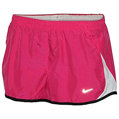 Nike Damen Pacer Gef¨¹ttert Eingebauter Kurzschaft Tempo Running Shorts-Pink-Gro? (Low Shorts Nike Rise)
