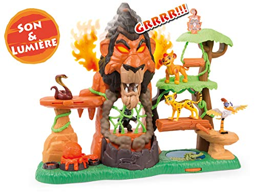 Simba - La Garde Du Roi Lion - Playset Ascension de Scar + 1 Figurine