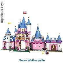 #1106 Blancanieves sueño CASTILLO & Rey Reina Príncipe Caballeros - 938pcs compatible construcción Bricks Construcción Set