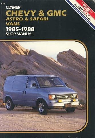 Chevy & GMC Astro & Safari compact vans, 1985-1988