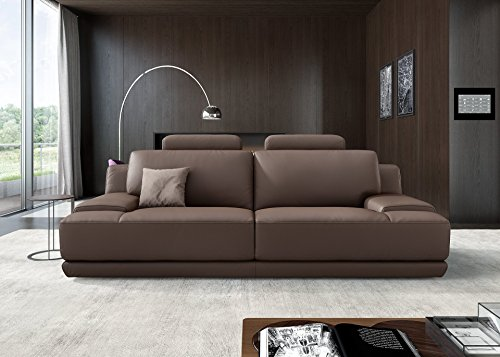 Designer Sofa Ledergarnitur Ledercouch Couchgarnitur Sofagarnitur 2Sitzer Sitzgruppe - 3