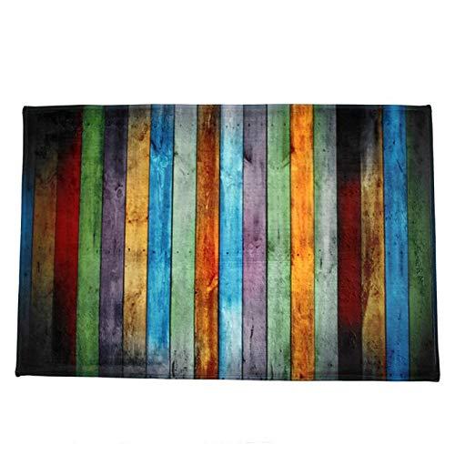 Ycank Teppich, zottelig, weich, rechteckig, 40 x 120 cm, für Schlafzimmer, Esszimmer -