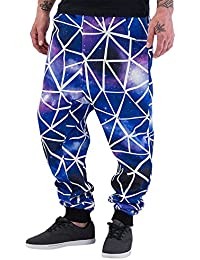 Just Rhyse Herren Hosen / Jogginghose Galaxy Stripes
