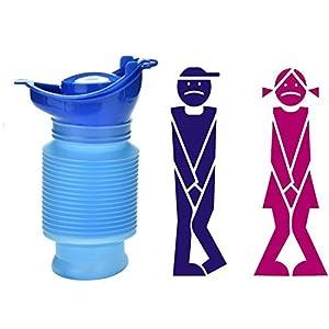 519AyimkIQL. SS300  - Camping Portable Toilet Urine Bottle Bag Travel Potty Urine Funnel for Unisex Men Women Children Kids Car Traffic Jam