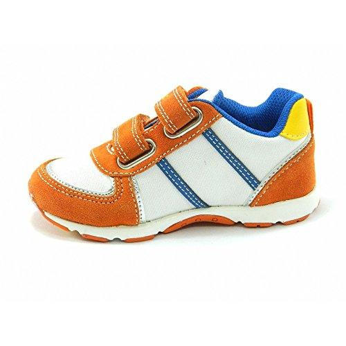 Naturino - Naturino chaussures de sport petit garçon blanc orange 367 Orange