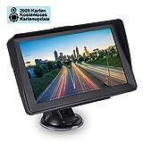 GPS Navigazione per auto, Aonerex 16 GB 7 pollici Touch Screen Navigatore per camion, auto, navigatore satellitare con attesa POI, guida vocale, aggiornamento mappe gratuito EU 52