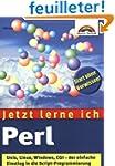 Jetzt lerne ich Perl.