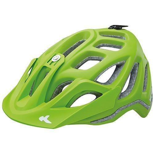 KED Fahrradhelm Trailon, Größe L, Kopfumfang 56-62 cm, Green Matt, Neues Modell, Extrem gut belüfteter All-Mountain Helm in robuster maxSHELL®- Technologie - Made in Germany