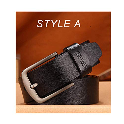 aoliaoyudonggha Men Male Genuine Leather Strap Luxury Pin Buckle Belts Cummerbunds Ceinture Homme Floral Cummerbund