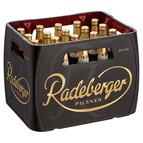 Radeberger Pils Mehrweg (20 x 0.5 l) (Pilsner Bier)