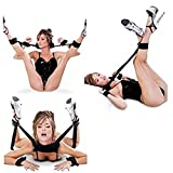 The Shackles of Soft Pillow, Foot Handcuffs and Handcuffs Enable Couples to Enjoy the Good needs of Different Stimuli