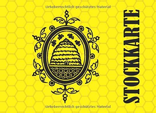 Stockkarte: Stockkarte mit 120 Seiten tabellarische Aufzeichnungsvorlagen im bequemen Querformat (ca. DIN A5)