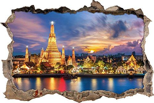 wat-arun-nachtansicht-tempel-bangkok-thailand-wanddurchbruch-im-3d-look-wand-oder-turaufkleber-forma