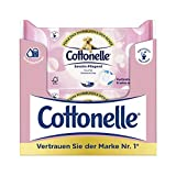 Cottonelle Feuchtes Toilettenpapier Pure Sensitive Nachfüllpack,12er Pack (12x 42 Tücher)