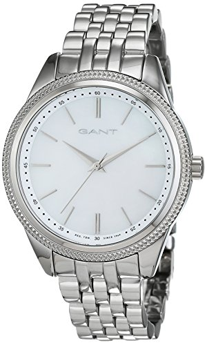 Gant Women's Quartz Watch Analogue Display and Stainless Steel Strap W71502