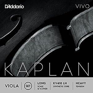D'Addario KV411 LM Long Scale Medium Tension Kaplan Vivo Viola A String