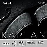 D'Addario KV410-LH Kaplan Vivo Viola Saiten Satz (Long Scale, Heavy Tension)