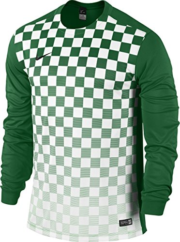 Nike Long Sleeve Top Precision III Jersey green/White