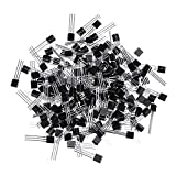 RISHIL WORLD 1700Pcs 17Values Each 100 Small-Power Transistor Package S9012 S9013 S9014 S8050 S8550