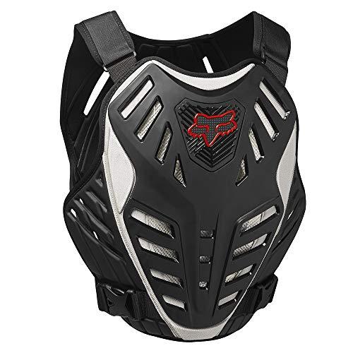 Fox Herren Titan Race Subframe Ce Protektor, Black/Silver, S/M