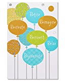 American Greetings Balloons Retirement Congratulations Card with Foil