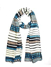 Sri Belha Fashions Ladies Scarf - Cotton Scarves Headscarf Outdoor Breathable Neckerchief Scarf Stole