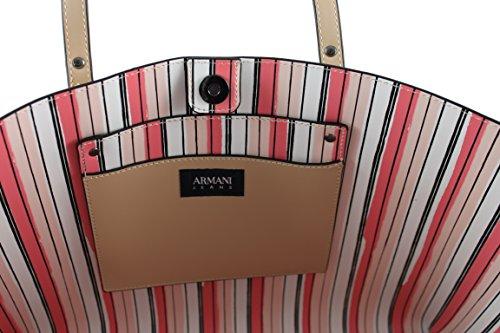 Armani Jeans 922171, Borsa tote donna beige cipria (sand) B 40 x H 27 x T 11 cipria (sand)