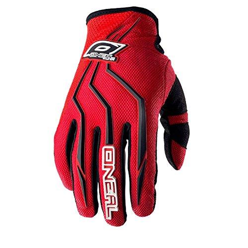 O'Neal Element Kinder Handschuhe Rot MX MTB DH Motocross Enduro Offroad Quad BMX FR, 0390-3, Größe XS (Atv-rote Handschuhe)