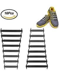 large 10mm jaune noir étoiles 114cm baskets lacets chaussures