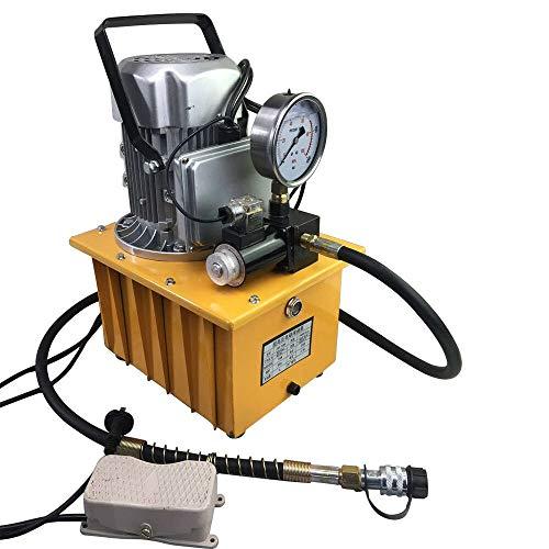 Aplicaciones: 1. La bomba se puede utilizar para una variedad de dispositivos hidráulicos. 2. Si la bomba está equipada con otras herramientas hidráulicas, puede realizar varias tareas, por ejemplo, B. Elevar, prensar, doblar, direccionar, cortar, mo...