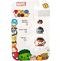 Tsum Tsum Marvel 3-Pack: Falcon/Hulk (Grey)/Spider Woman Toy Figure