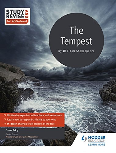 Study and Revise for AS/A-level: The Tempest (Study & Revise for As/a Level)