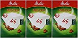 300 Filtertüten Melitta Original 1x6 Kaffeefilter 3 Pakete à 100