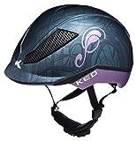 KED Pina Helmet Kids Nightblue Matt Kopfumfang S   50-53cm 2018 Fahrradhelm