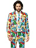 Opposuits Official Marvel Comics Hero Suits - Infinity War Avengers Costume Comes with Pants, Jacket and Tie, Marvel Comics,50