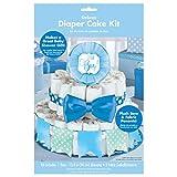 Amscan Kit de pañales de Lujo para Tartas de bebé (4 Piezas)