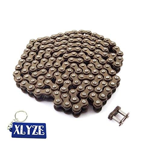 xlyze 25H 146links mit Spare Kette Master Link für 43CC 47cc 49cc Mini Moto Dirt ATV Quad Pocket Bike