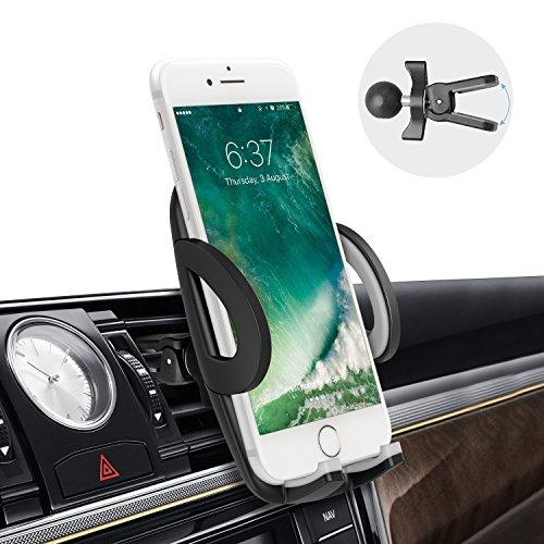 Avolare® Handyhalterung Halter Auto Lüftung Lüftungsschlitz Universale Autohalterung Phone Mount Phone Halter mit Kugelgelenk Besser Qualität 360 Grad Drehung für iPhone Samsung LG Huawei (Auto-telefon-vent Halter Lg G3)