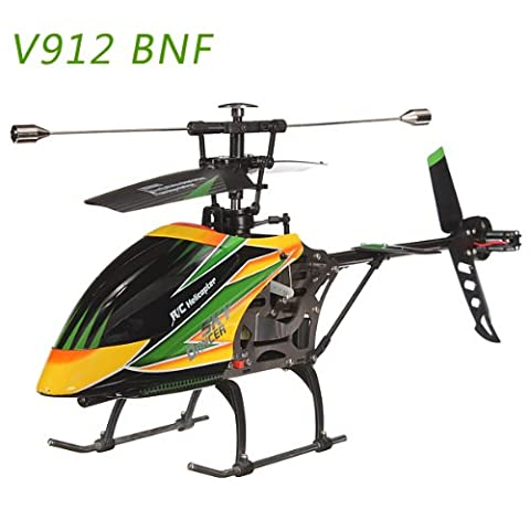 Bluelover Large WLtoys V912 Sky Dancer 4CH RC Helicopter With Gyro BNF