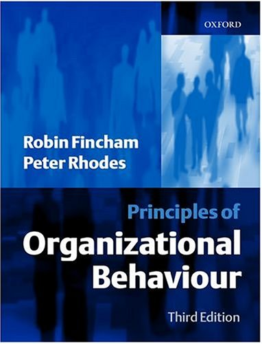 principles of organizational psychology 19-3032 industrial-organizational psychologists apply principles of psychology to human resources, administration, management, sales, and marketing problems activities may include policy planning employee testing and selection, training and development and organizational development and analysis.