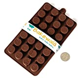 Silicon Chocolate Mould - Emoticons